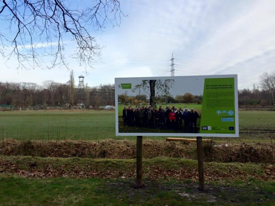 Participative design of the Schansbroek neigbourhood park in Genk