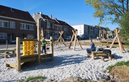 Breugelpark in Molenbeek-Maalbeek