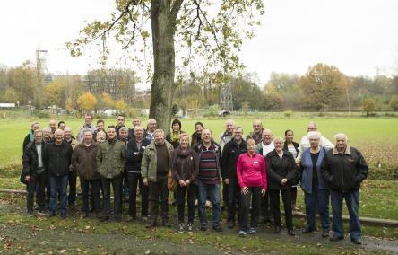Buurtbewoners Schansbroek geven het buurtpark vorm