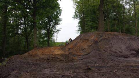 eerste werken in Schansbroek
