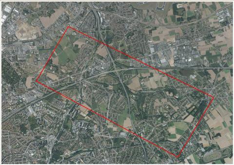 woluweveld vuilbeekkleinemaalbeek luchtfoto