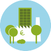 Groene bedrijfsomgeving